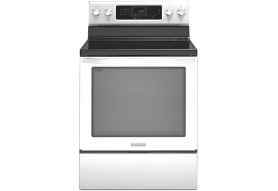 KitchenAid - KERS303BWH - Electric Ranges