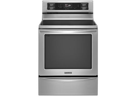 KitchenAid - KERS306BSS - Electric Ranges