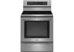 KitchenAid - KERS308SS - Free Standing Electric Ranges