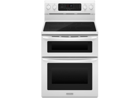 KitchenAid - KERS505WH - Free Standing Electric Ranges