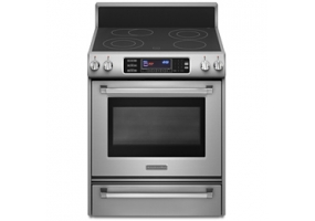 KitchenAid - KERS807XSP - Free Standing Electric Ranges