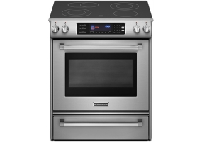 KitchenAid - KESS907XSP - Slide-In Electric Ranges