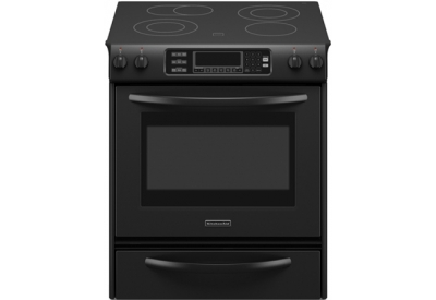 KitchenAid - KESS907SBL - Slide-In Electric Ranges