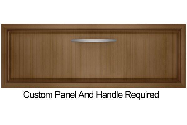 """Large image of KitchenAid 27"""" Panel Ready Warming Drawer - KEWS175BPA"""