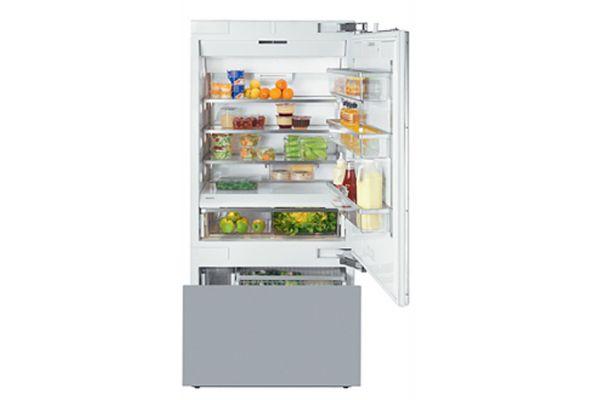 "Miele Vi Series 30"" Right Hinge Built-In Bottom Mount Refrigerator - KF1803VI"
