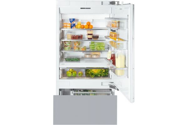 """Miele SF Series 36"""" Right Hinge Built-In Bottom Mount Refrigerator - KF1903SF"""
