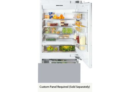 "Miele Vi Series 36"" Panel Ready Built-In Bottom Mount Refrigerator - KF1903VI"