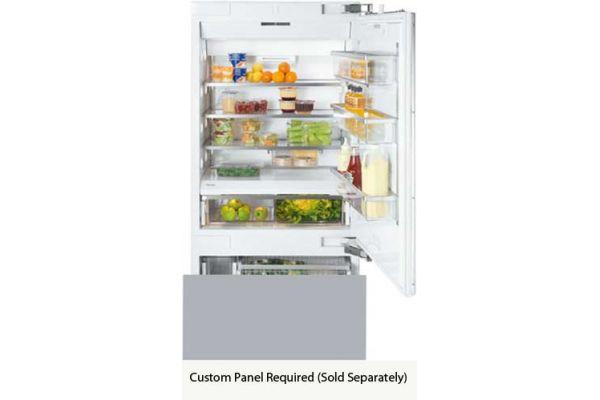 "Miele Vi Series 36"" Panel Ready Built-In Bottom Mount Refrigerator - KF1903VI"