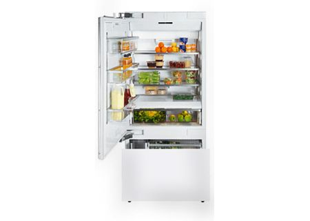"Miele Vi Series 36"" Left Hinge Built-In Bottom Mount Refrigerator - KF1913VI"