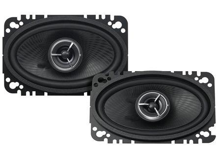 "Kenwood eXcelon 4"" x 6"" Speaker System (Pair) - KFC-X463C"