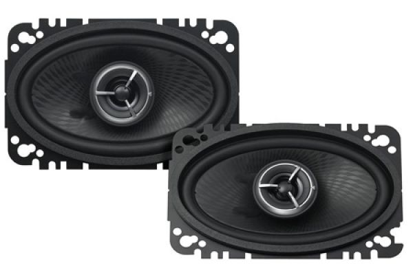 "Large image of Kenwood eXcelon 4"" x 6"" Speaker System (Pair) - KFCX463C"