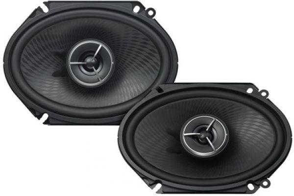 "Large image of Kenwood eXcelon 6"" x 8"" Speaker System (Pair) - KFCX683C"