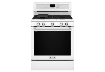 KitchenAid - KFGG500EWH - Gas Ranges