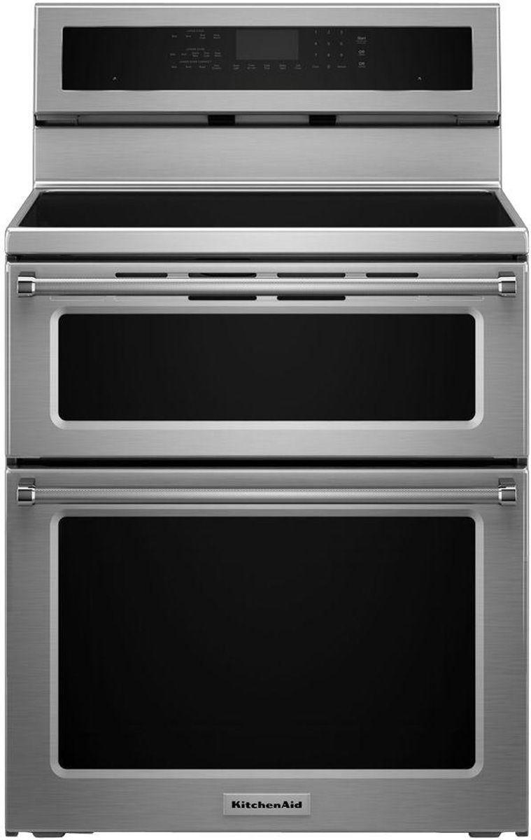 Kitchen Aid Induction Double Range Oven