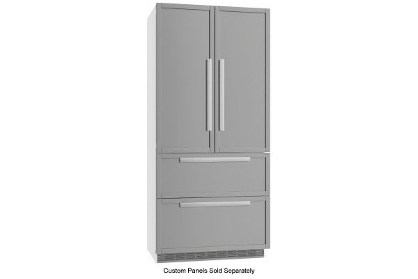 """Miele 36"""" Built-In Panel Ready French Door Refrigerator - 10277970"""