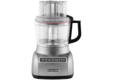 KitchenAid 9 Cup Contour Silver Food Processor - KFP0922CU