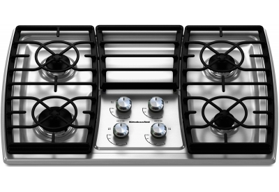 KitchenAid - KGCK306VSS - Gas Cooktops