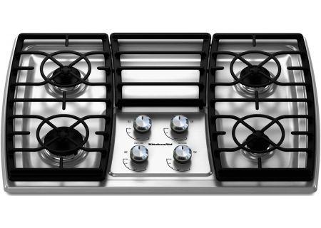 KitchenAid - KGCK306VSS - Gas Cooktops