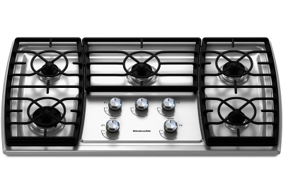 KitchenAid - KGCK366VSS - Gas Cooktops