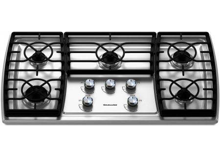 KitchenAid - KGCK366VSS - Gas Cooktops
