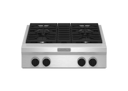KitchenAid - KGCU407VSS - Rangetops