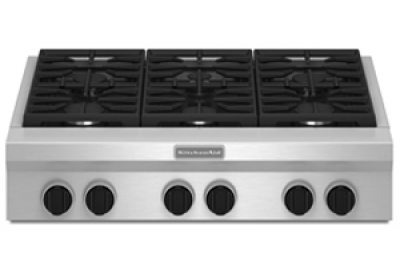 KitchenAid - KGCU467VSS - Gas Cooktops
