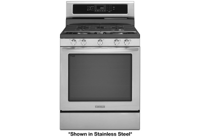 KitchenAid - KGRS202BWH - Gas Ranges