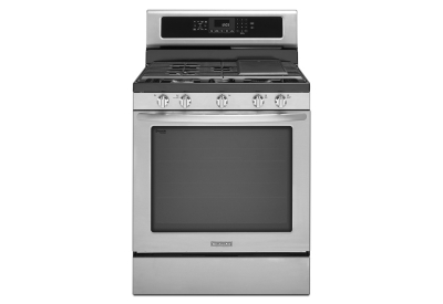 KitchenAid - KGRS303BSS - Gas Ranges