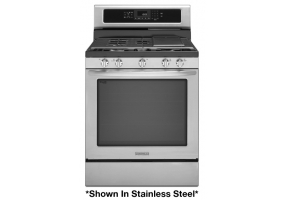 KitchenAid - KGRS303BWH - Free Standing Gas Ranges & Stoves