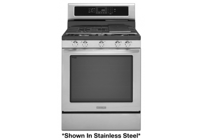 KitchenAid - KGRS303BWH - Gas Ranges