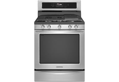 KitchenAid - KGRS306BSS - Gas Ranges