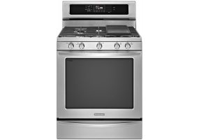 KitchenAid - KGRS308BSS - Free Standing Gas Ranges & Stoves