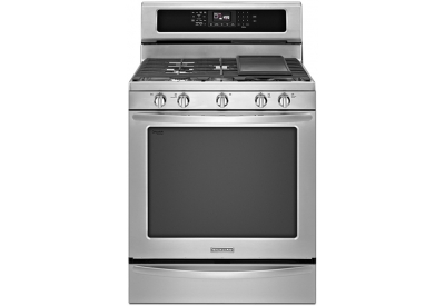 KitchenAid - KGRS308BSS - Gas Ranges