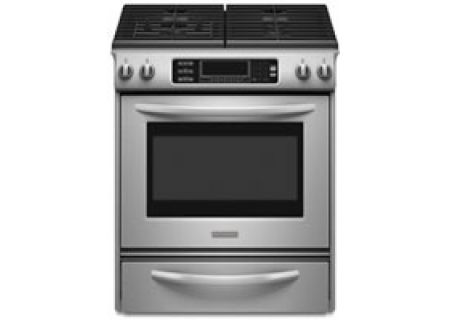 KitchenAid - KGSS907SSS - Slide-In Gas Ranges