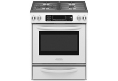 KitchenAid - KGSS907SWH - Slide-In Gas Ranges