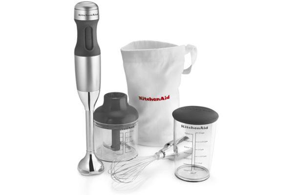 KitchenAid 3-Speed Silver Hand Blender - KHB2351CU