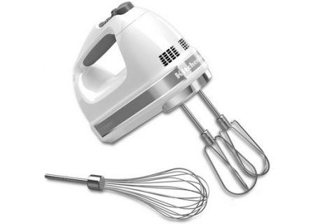 KitchenAid 7 Speed White Hand Mixer - KHM7210WH