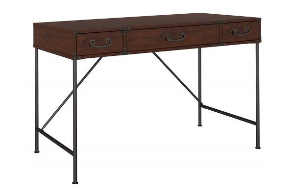 Kathy Ireland Office by Bush Furniture Ironworks 48W Writing Desk in Coastal Cherry - KI50201-03