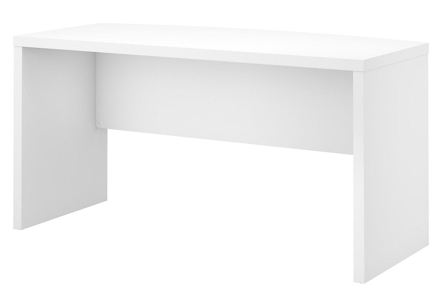 Office By Kathy Ireland Echo Bow Front Desk In Pure White Ki60105 03