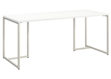 Bush Furniture Method White 72W Table Desk - KI70207K