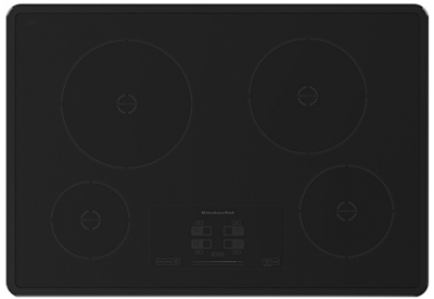 Kitchenaid black induction electric cooktop kicu500xbl - Kitchenaid induction cooktop problems ...