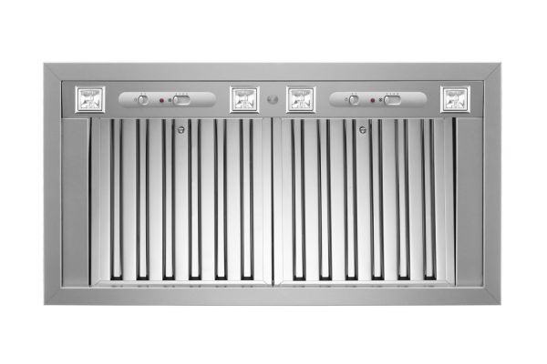 """Large image of Bertazzoni Professional Series 46"""" Stainless Steel Ventilation Liner  - KIN46PROX"""