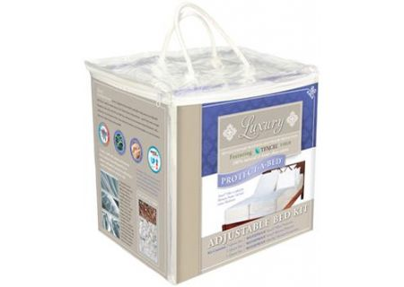 Protect-A-Bed King Luxury Adjustable Bedding Protection Kit - KLAB0142
