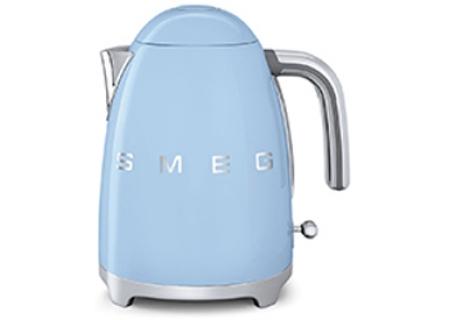 Smeg 50s Retro Style Pastel Blue Electric Kettle - KLF01PBUS