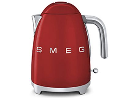 Smeg 50s Retro Style Red Electric Kettle - KLF01RDUS