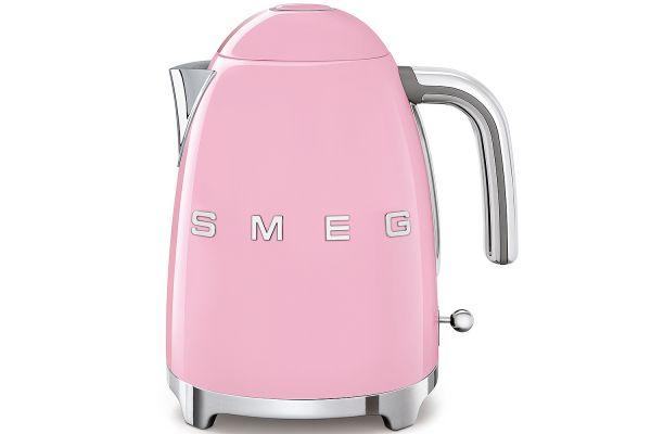 Smeg 50's Retro Style Pink Electric Kettle - KLF03PKUS