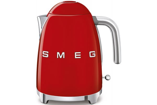 Large image of Smeg 50's Retro Style Red Electric Kettle - KLF03RDUS