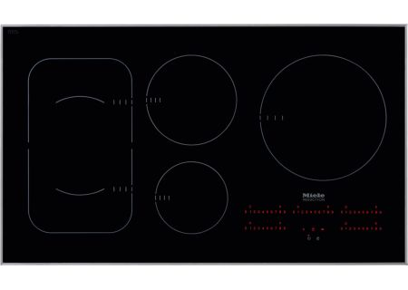 "Miele 36"" Black Built-In Induction Electric Cooktop  - KM6370"