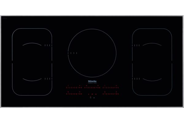 """Large image of Miele 42"""" Black Built-In Induction Electric Cooktop - 09775930"""