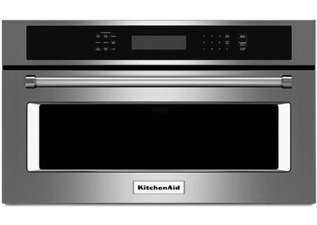 "KitchenAid 30"" Stainless Steel Built-In Convection Microwave Oven - KMBP100ESS"